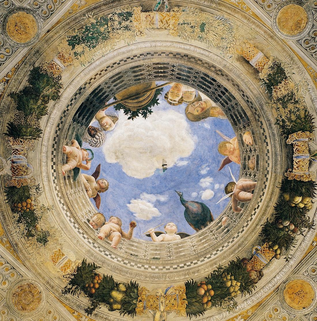 Andrea mantegna oculo della camera degli il for Design della camera degli ospiti